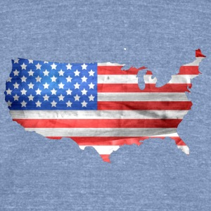 Murica no words - Unisex Tri-Blend T-Shirt by American Apparel