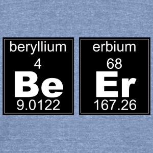 Chemistry Beer - Unisex Tri-Blend T-Shirt by American Apparel