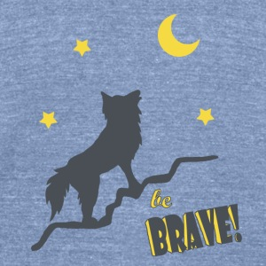 Be_Brave_Shirt - Unisex Tri-Blend T-Shirt by American Apparel