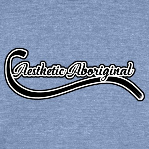 Aesthetic Aboriginal (Logo) - Unisex Tri-Blend T-Shirt by American Apparel