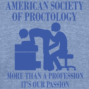 AMERICAN SOCIETY OF PROCTOLOGY - Unisex Tri-Blend T-Shirt by American Apparel