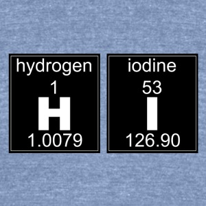 Chemistry HI - Unisex Tri-Blend T-Shirt by American Apparel