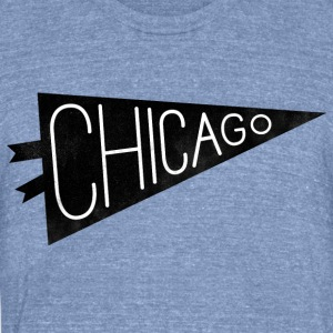 Chicago Pride - Unisex Tri-Blend T-Shirt by American Apparel