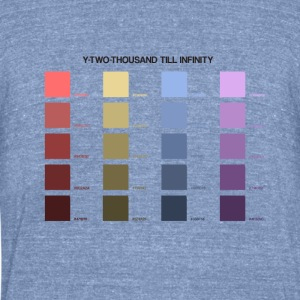 Y2000 Till Infinity - Unisex Tri-Blend T-Shirt by American Apparel