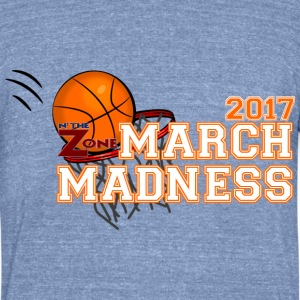 March Madness - Unisex Tri-Blend T-Shirt by American Apparel