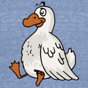 duck poultry fowl canard - Unisex Tri-Blend T-Shirt by American Apparel
