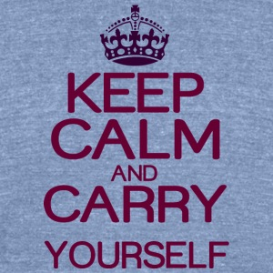 Keep calm and do it yourself - Unisex Tri-Blend T-Shirt by American Apparel