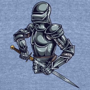 KNIGHT OF HONOR - Unisex Tri-Blend T-Shirt by American Apparel
