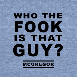 MC GREGOR - Unisex Tri-Blend T-Shirt by American Apparel