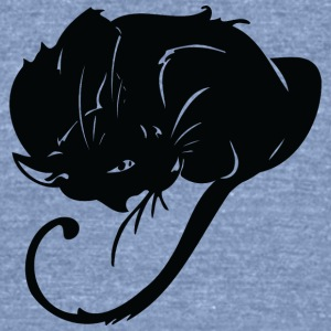 Furry_ball_cat - Unisex Tri-Blend T-Shirt by American Apparel
