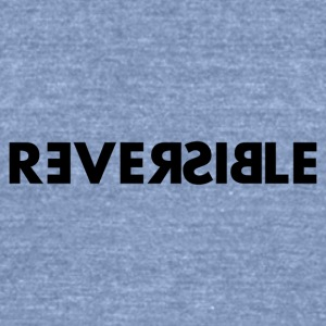 Reversible - Unisex Tri-Blend T-Shirt by American Apparel