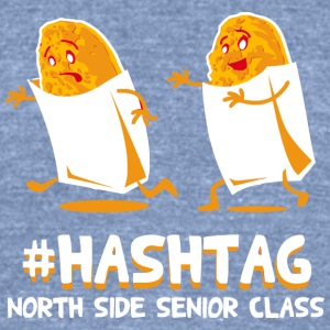 Hashtag North Side Senior Class - Unisex Tri-Blend T-Shirt by American Apparel