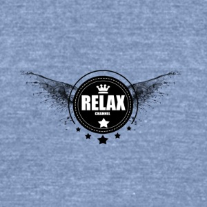 RELAX - Unisex Tri-Blend T-Shirt by American Apparel