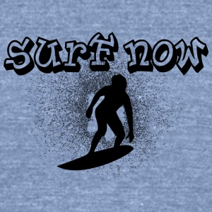 surfer_boy_black - Unisex Tri-Blend T-Shirt by American Apparel