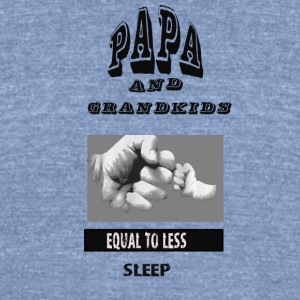 GRANDKIDS - Unisex Tri-Blend T-Shirt by American Apparel