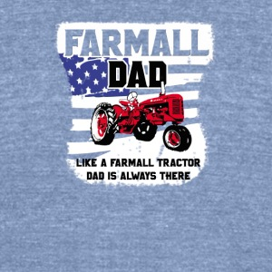Farmall and Dad - Unisex Tri-Blend T-Shirt by American Apparel