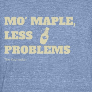 Mo Maple - Unisex Tri-Blend T-Shirt by American Apparel