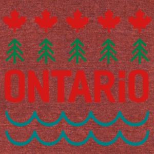 Ontario! - Unisex Tri-Blend T-Shirt by American Apparel