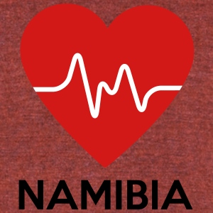 Heart Namibia - Unisex Tri-Blend T-Shirt by American Apparel