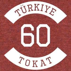 turkiye 60 - Unisex Tri-Blend T-Shirt by American Apparel