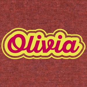 Olivia - Unisex Tri-Blend T-Shirt by American Apparel