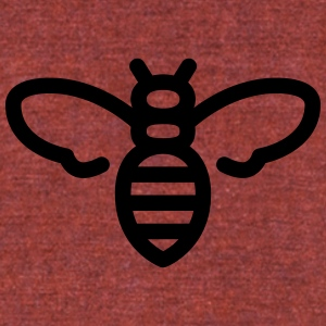 Bee - Unisex Tri-Blend T-Shirt by American Apparel