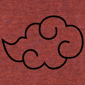 Akatsuki Cloud - Unisex Tri-Blend T-Shirt by American Apparel