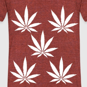weeds - Unisex Tri-Blend T-Shirt by American Apparel