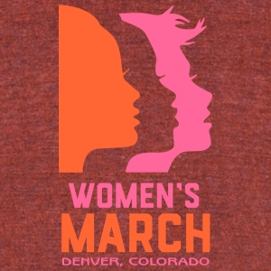 Women s March Colorado - Unisex Tri-Blend T-Shirt by American Apparel
