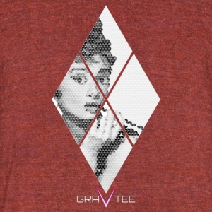 Audrey Hepburn - Unisex Tri-Blend T-Shirt by American Apparel