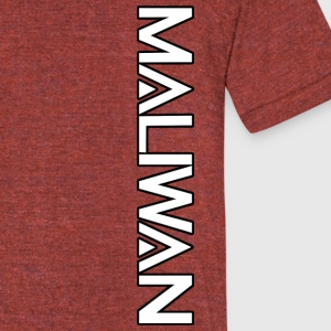 Maliwan logo- Borderlands series - Unisex Tri-Blend T-Shirt by American Apparel