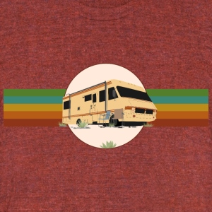 The RV - Unisex Tri-Blend T-Shirt by American Apparel