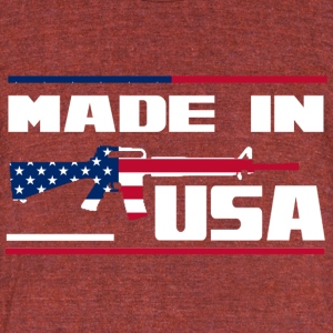USA-16A4 - Unisex Tri-Blend T-Shirt by American Apparel
