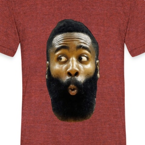 James Harden - Unisex Tri-Blend T-Shirt by American Apparel