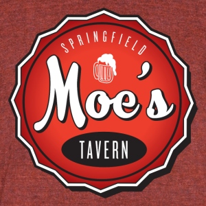 Moes Tavern - Unisex Tri-Blend T-Shirt by American Apparel