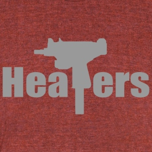 heaters - Unisex Tri-Blend T-Shirt by American Apparel