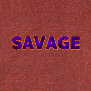 Savage Purple - Unisex Tri-Blend T-Shirt by American Apparel
