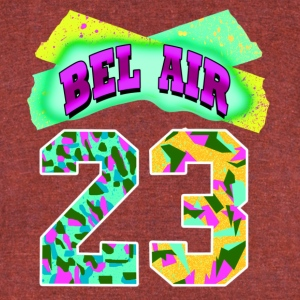 Bel Air 23 - Unisex Tri-Blend T-Shirt by American Apparel