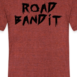 ROAD BANDIT - Unisex Tri-Blend T-Shirt by American Apparel