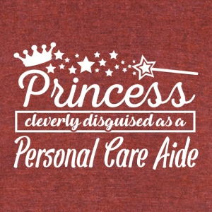 Personal Care Aide - Unisex Tri-Blend T-Shirt by American Apparel