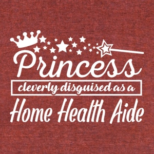 Home Health Aide - Unisex Tri-Blend T-Shirt by American Apparel