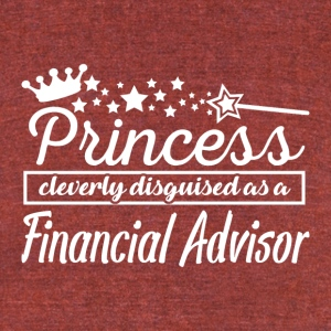 Financial Advisor - Unisex Tri-Blend T-Shirt by American Apparel