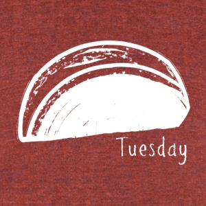 Taco Tuesday - Unisex Tri-Blend T-Shirt by American Apparel