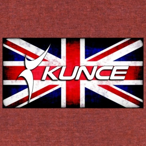 Kunce UK Grunge - Unisex Tri-Blend T-Shirt by American Apparel