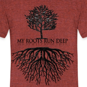 Deeply_Rooted_2017 - Unisex Tri-Blend T-Shirt by American Apparel