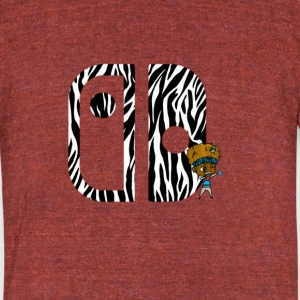 Switch Nation | Zebra Nation - Unisex Tri-Blend T-Shirt by American Apparel