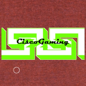 Youtube channel Cisco Gaming - Unisex Tri-Blend T-Shirt by American Apparel
