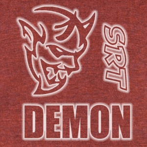 DEMON - Unisex Tri-Blend T-Shirt by American Apparel