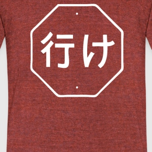BAD TRANSLATION - Unisex Tri-Blend T-Shirt by American Apparel