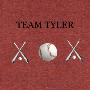 Team Tyler - Unisex Tri-Blend T-Shirt by American Apparel